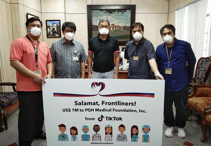 Tiktik donates USD 1M to PGH