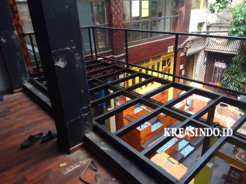 Harga Jasa Pembuatan Mezzanine dan Mezzanine Canopy Balkon [ Update Juni 2021 ]