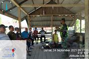 Serma Tota Simbolon Babinsa Koramil 05/Gas Laksanakan Komsos Jaga Hubungan yang Harmonis