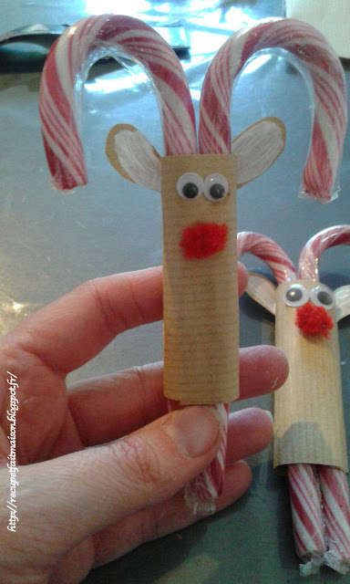 candy christmas reindeer