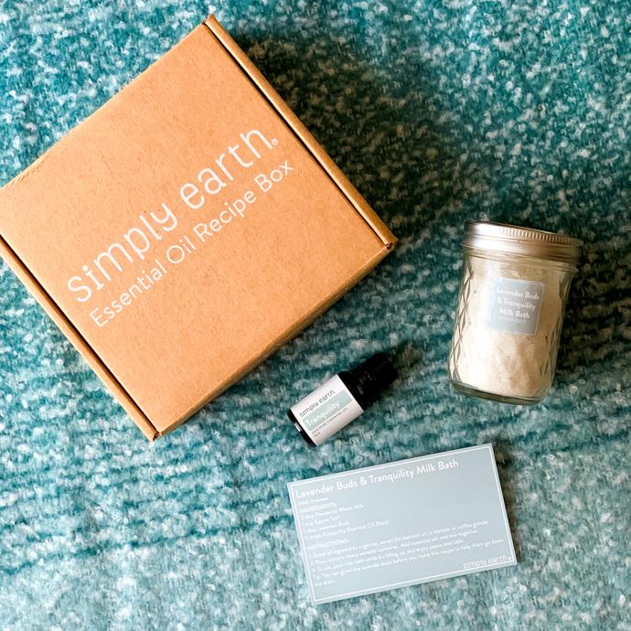 Simply Earth Essential Oils Recipe Box November