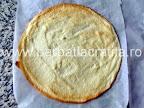 Tort Dobos (reteta de foi si crema) preparare blat - foaia scoasa din cuptor
