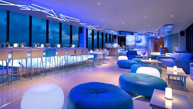 Quày bar tại khách sạn Sheraton Nha Trang