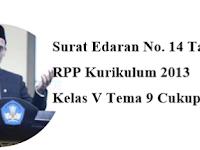 1 Lembar RPP K2013 Kelas 5 SD/MI Tema 9 Revisi
