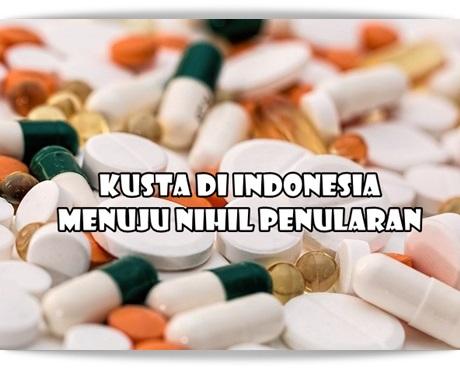Kusta di Indonesia