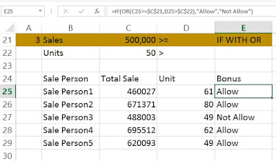 Or function in excel www.coursedots.com