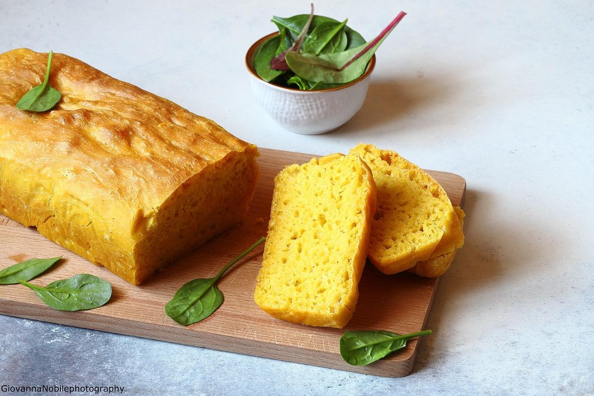 Pane a cassetta allo zafferano