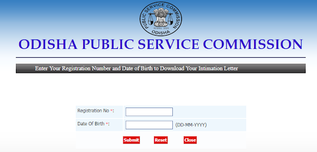 OPSC-intimation-letter