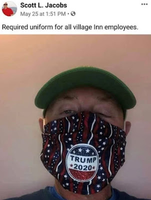 "Coronavirus Update 6–8–2020: ""I was terminated for refusing to wear a 'Trump 2020' face mask."
