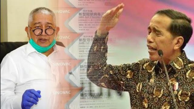 Jokowi Desak Vaksin dari China Segera Dipakai, Profesor: Enggak Bisa, Nanti Tak Tau Efek Sampingnya