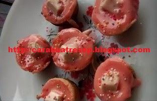 Foto Kue Cubit Red Velvet Kitkat