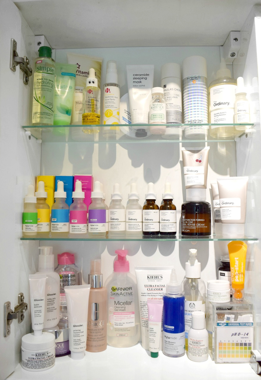 Natasha Kendall, Beauty Blogger, Cambridge Blogger, Skincare Blogger, Skincare shelfie Pinterest