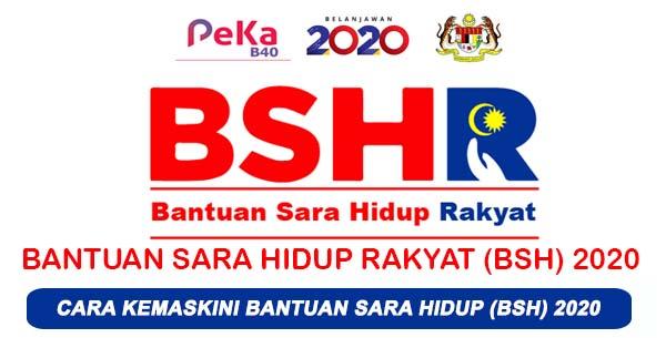 Tarikh pembayaran Bantuan sara hidup BSH 2020