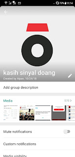 Cara Mematikan Chat Grup WhatsApp