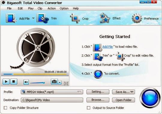 bigasoft total video converter 3.5 serial mac