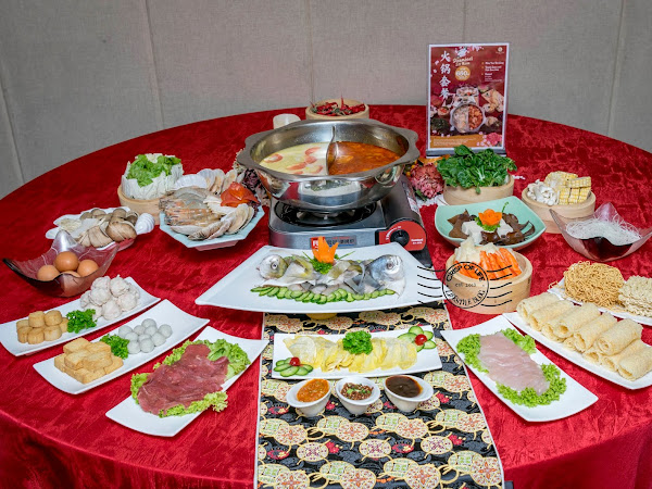 Chinese New Year Promotion (Buffet, Steambot and Course Dinner) @ Olive Tree Hotel Penang