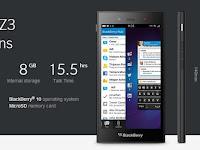 Touchscreen BB Z3 tidak berfungsi setelah upgrade