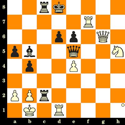 Les Blancs jouent et matent en 3 coups - Lembit Oll vs Vladimir Tukmakov, Moscou, 1992