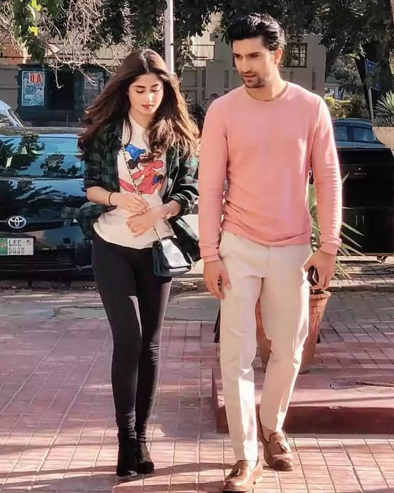 Sajal Ali reveals she's pregnant with her first child