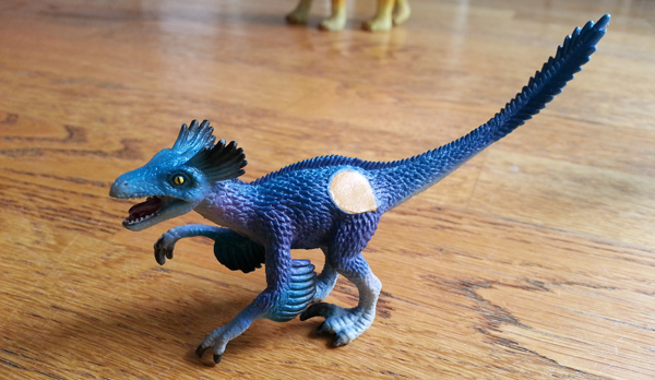 Dinosaure raptor Tiptoi Ravensburger