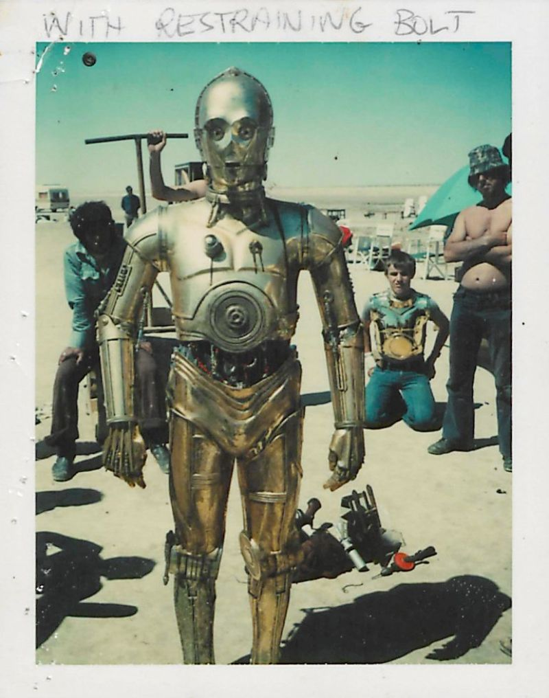 Rare Candid Polaroid Snaps Taken During The Making Of Star Wars Episode Iv A New Hope Vintage News Daily