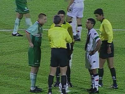 """Confronto entre Palmeiras e Vasco é chamado de """"A Virada do Século"""". Foto: Reprodução/Band"""