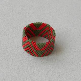 купить бисерное кольцо с узором россия симферополь крым