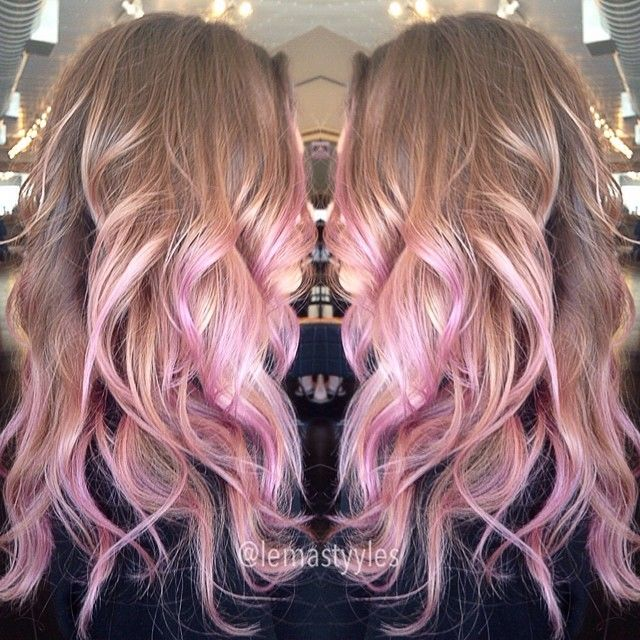 Pink Ombres The Haircut Web