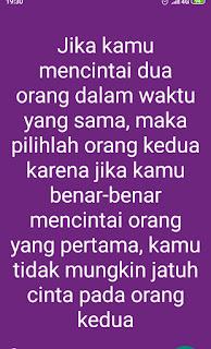 Quotes cinta romantis dan motivasi kehidupan