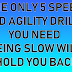 THE ONLY 5 SPEED AND AGILITY DRILLS YOU NEED - BEING SLOW WILL HOLD YOU BACK