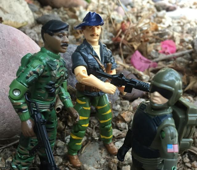 1988 Tiger Force Recondo, Tiger Fly, Dragonfly, Hardball, 1982 VAMP, Red Laser Army Sky Patrol Steel Brigade, Dial Tone, Thunder, 1986, 1984, 1997 Stalker, 2001 Tripwire, ARAHC