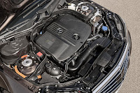 The new-generation Mercedes-Benz E-Class engine