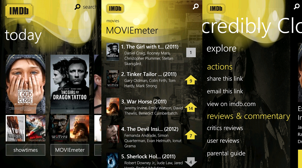 IMDb now Giving a Free Movie Streaming Service