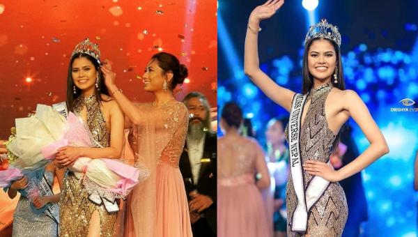 Anshika Sharma es Miss Universe Nepal 2020