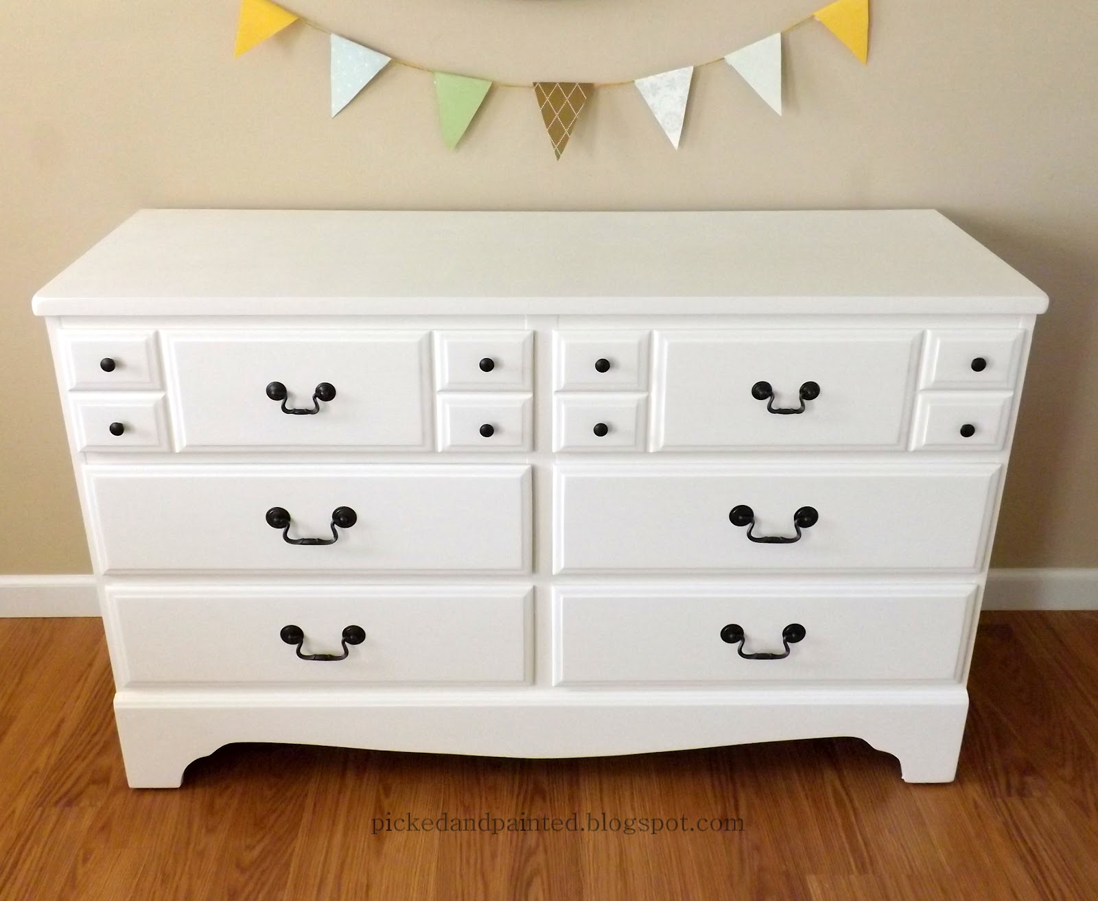 Helen Nichole Designs Nursery Furniture Before And After