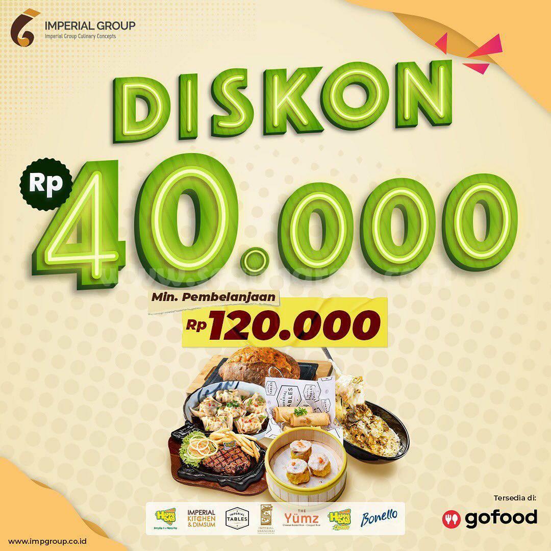 The Yumz Promo Diskon Hingga Rp. 40.000 Pemesanan via GOFOOD