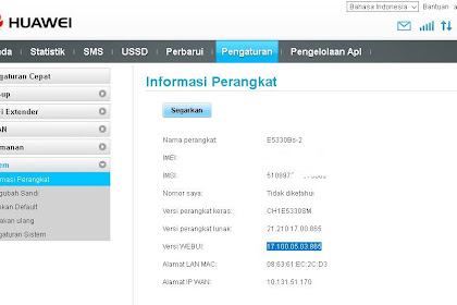 Huawei E5330bs-2 Update WEBUI 17.100.05.03.865 with USSD (Indonesia)