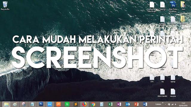 Melakukan screenshot tampilan desktop komputer dengan banyak cara