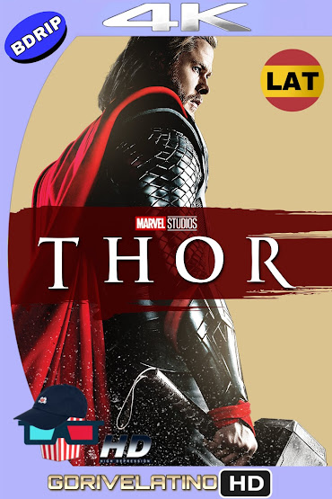 Thor (2011) BDRip 4K HDR Latino-Ingles MKV