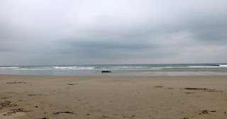 Overcast as we got to Machir Bay