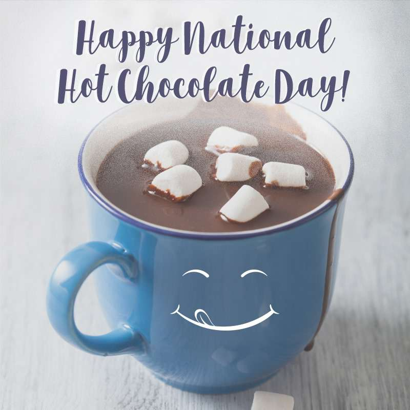 National Hot Chocolate Day Wishes Sweet Images