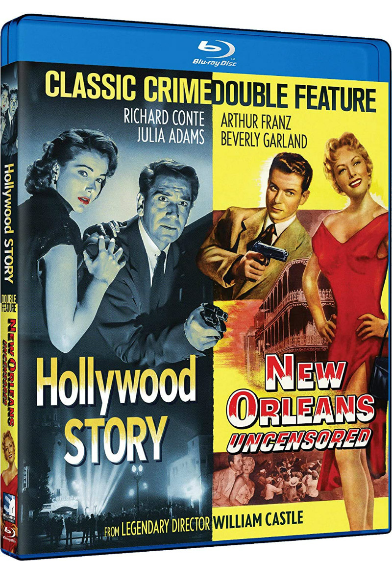 william castle crime double bluray