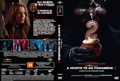 Filme A Morte Te Dá Parabéns 2 (Happy Death Day 2U) DVD Capa