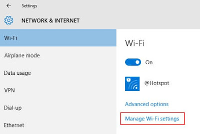 cara menghapus wifi di laptop windows 8