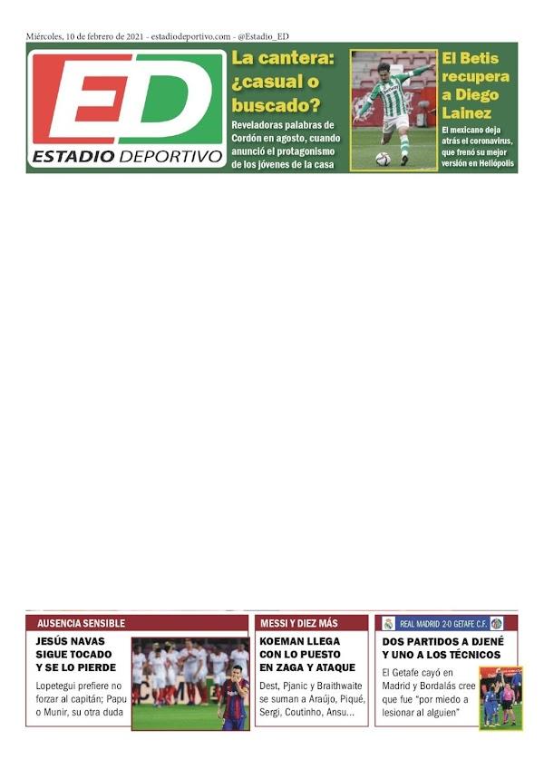 "Betis, Estadio Deportivo: ""La cantera, ¿casual o buscado?"""