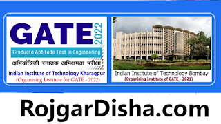 IIT GATE 2022 Online Form