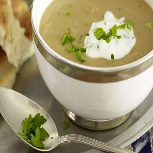 Receita Sopa De Marroquina, e Ervas Fina Mais Acompanhamento