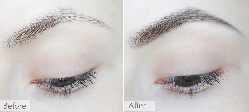 how to fill in your eyebrows step by step tutorial  liz breygel january girl blogger