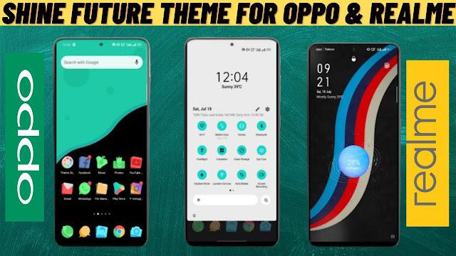 Chủ đề Shine Future For oppo & realme || Chủ đề Oppo || chủ đề realme ||