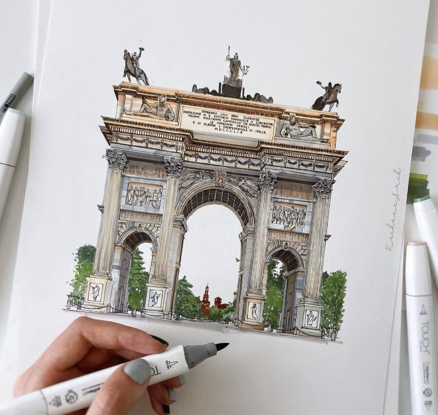 01-Arco-della-Pace-Milan-Reihané-www-designstack-co